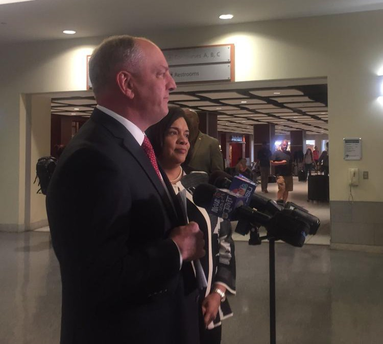 Gov. Edwards on visits with Hollywood execs: 'They like doing business here'